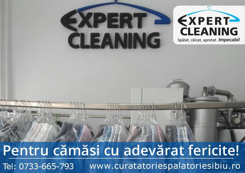 Expert Cleaning curatatorie si spalatorie Sibiu,